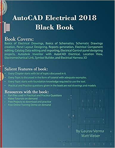 Autocad Electrical 2018 Black Book Gaurav Verma Matt Weber