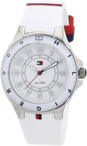 Tommy Hilfiger White Wrist Watch (Tommy Hilfiger 1781271 Ladies White Carley Watch)