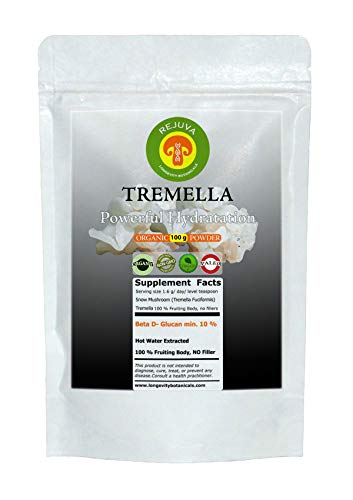 (Organic Tremella Extract Powder, Beauty and Hydration: 100 Grams 100% USDA Organic Fruiting Body. Small Batch, Produced Fresh. Potent Feel The Difference!)