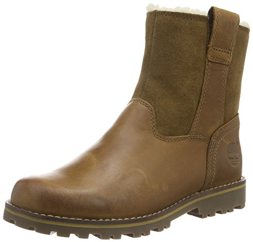 Timberland Kids Chestnut Ridge Warm-Lined Pull-on Stiefel, Braun (Light Brown), 28 EU