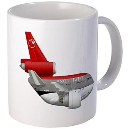 west airlines DC 10 Mug - S White