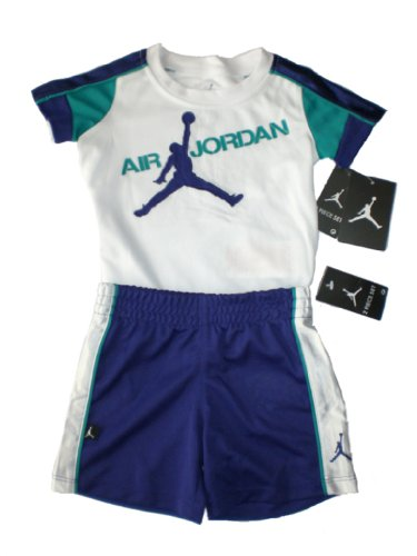 Price comparison product image Nike Air Jordan Baby T-Shirt & Short, Size 12 Months (MSRP $44)