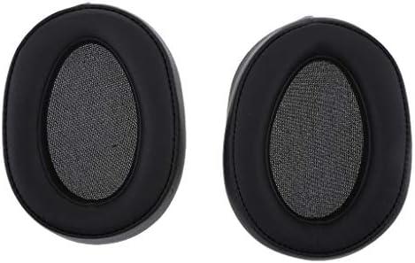P Prettyia ソニーMDR-100A MDR-100AAP MDR-100ABNヘッドフォン用ペア交換イヤーパッドクッションカバーイヤーパッド