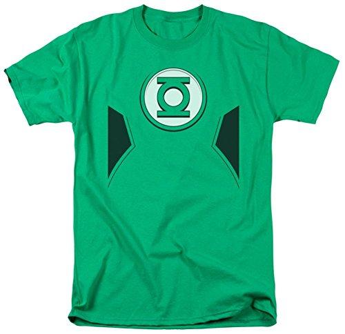 New Green Lantern Costumes Tshirt (Green Lantern - New Green Lantern Costume T-Shirt Size XXXL)