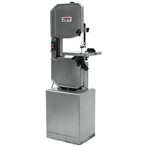 JET J-8201K 14-Inch 115-Volt Single Phase Vertical Metal/Wood Bandsaw ()