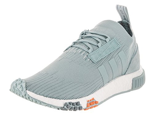 adidas NMD_Racer Primeknit Women s Shoes Ash Grey Blue Tint White cq2032