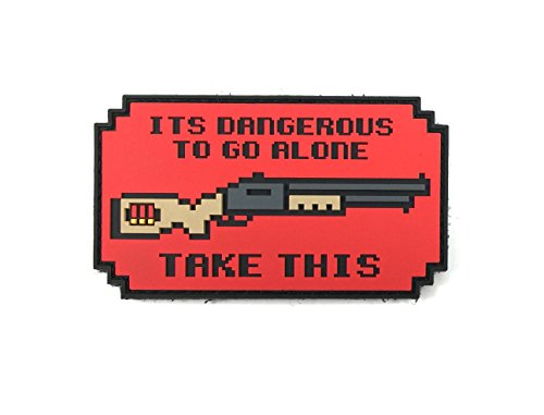 Patriot Patch Co - It's Dangerous To Go Alone Patch