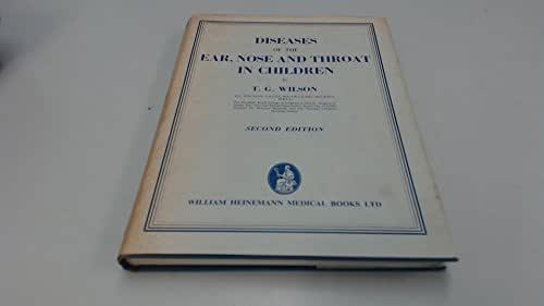 Diseases of the Ear, Nose and Throat in Children