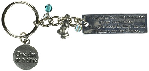 (Cathedral Art KR313 Serenity Key Ring Bling, 4-1/2-Inch)