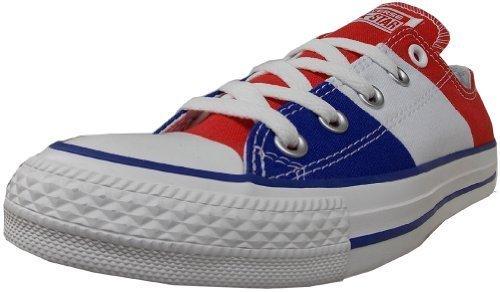 Converse Unisex National Pride Red/White/Blue Sneaker - 6.5 Men - 8.5 Women