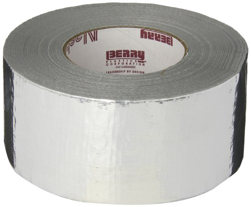 Nashua 365 Polyethylene Coated Cloth Professional Grade Duct Tape, 55m Length x 72mm Width, Metallic
