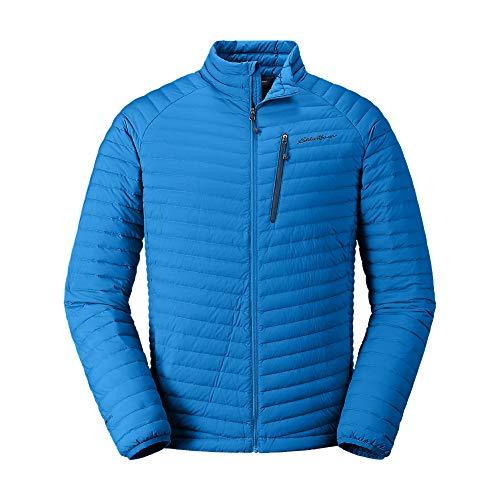 Eddie Bauer Men's MicroTherm Stretch Down Jacket, Ascent Blue Regular XXL ()