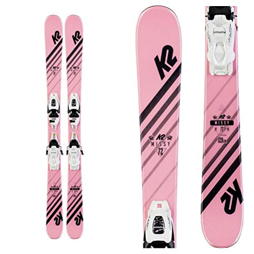 K2 Missy Skis + FDT 7.0 Bindings 2020 - Girls - 139 cm