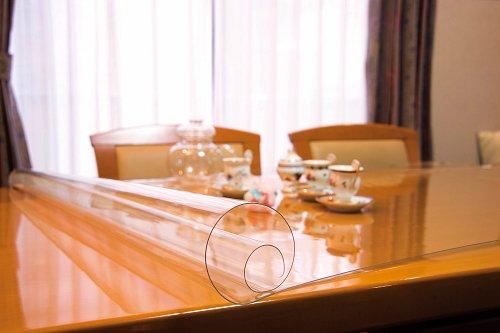 透明テーブルマット 厚み1m/m 定型サイズ約1000×約10m巻   B01LSAA1GS