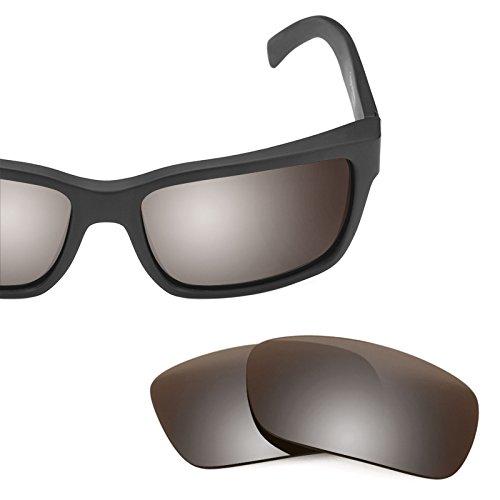 Verres de rechange pour Von Zipper Elmore — Plusieurs options Polarisés Elite Flash Bronze MirrorShield®