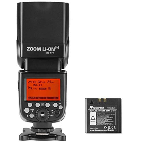 Flashpoint Zoom Li-ion R2 TTL On-Camera Flash Speedlight for Sony (V860II-S)