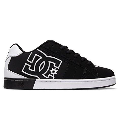 Basses Net Homme black Se Noir white Dc Black Apparel Sneakers wRCxqng41