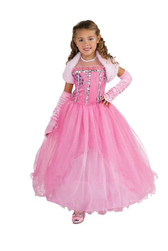 Princess Shirley Costume, Medium (Beauty Queen Fancy Dress)