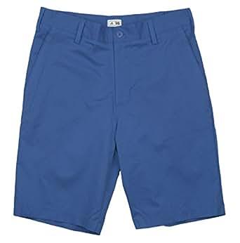 Adidas 2014 Men's ClimaLite Flat-Front Short (Vivid Blue/White - 32)