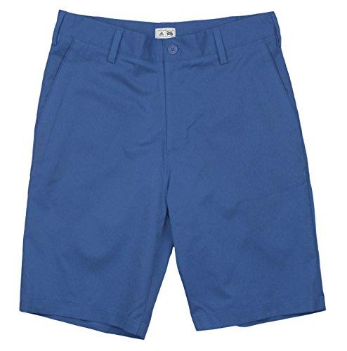 Adidas 2014 Men's ClimaLite Flat-Front Short (Vivid Blue/White - 36)