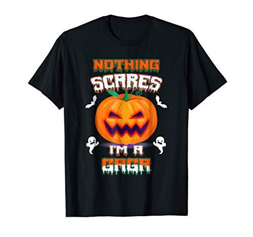 Nothing Scares Me Gaga Halloween T Shirt