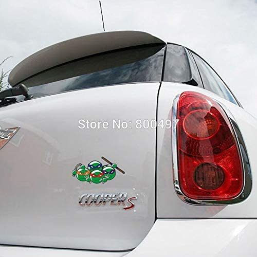 Amazon.com: Zizu Store - Pegatina para coche, diseño de ...