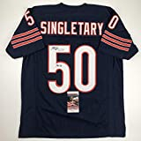 Autographed/Signed Mike Singletary HOF 98 Chicago