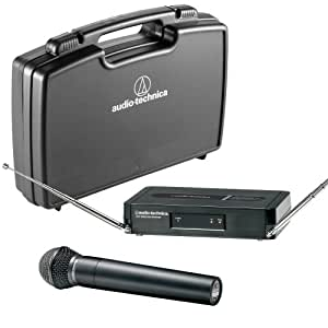 audio technica pro302 pro series 3 handheld vhf wireless mic channel t3 musical. Black Bedroom Furniture Sets. Home Design Ideas