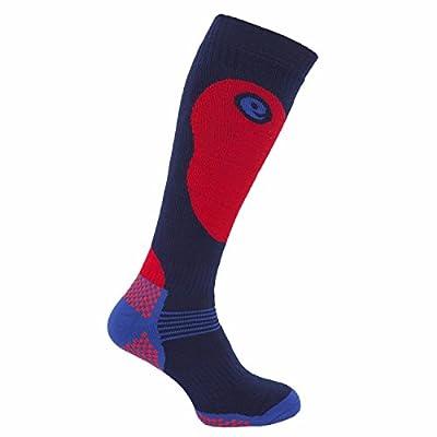Universal Textiles Men's Thermal Ski Socks 1 Pair Shoe US 7-12 Navy