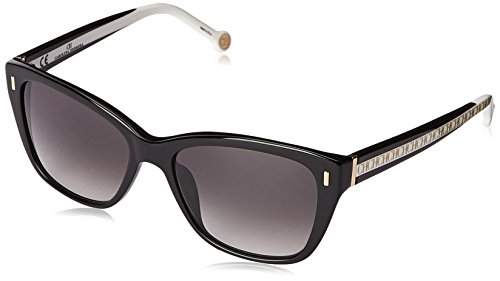 carolina-herrera-womens-she596-550700-cateye-sunglasses-shiny-black-gradient-smoke-55-mm