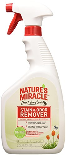 Nature's Miracle Stain and Odor Remover Cat, Flowering Meadow Scent by Nature's Miracle