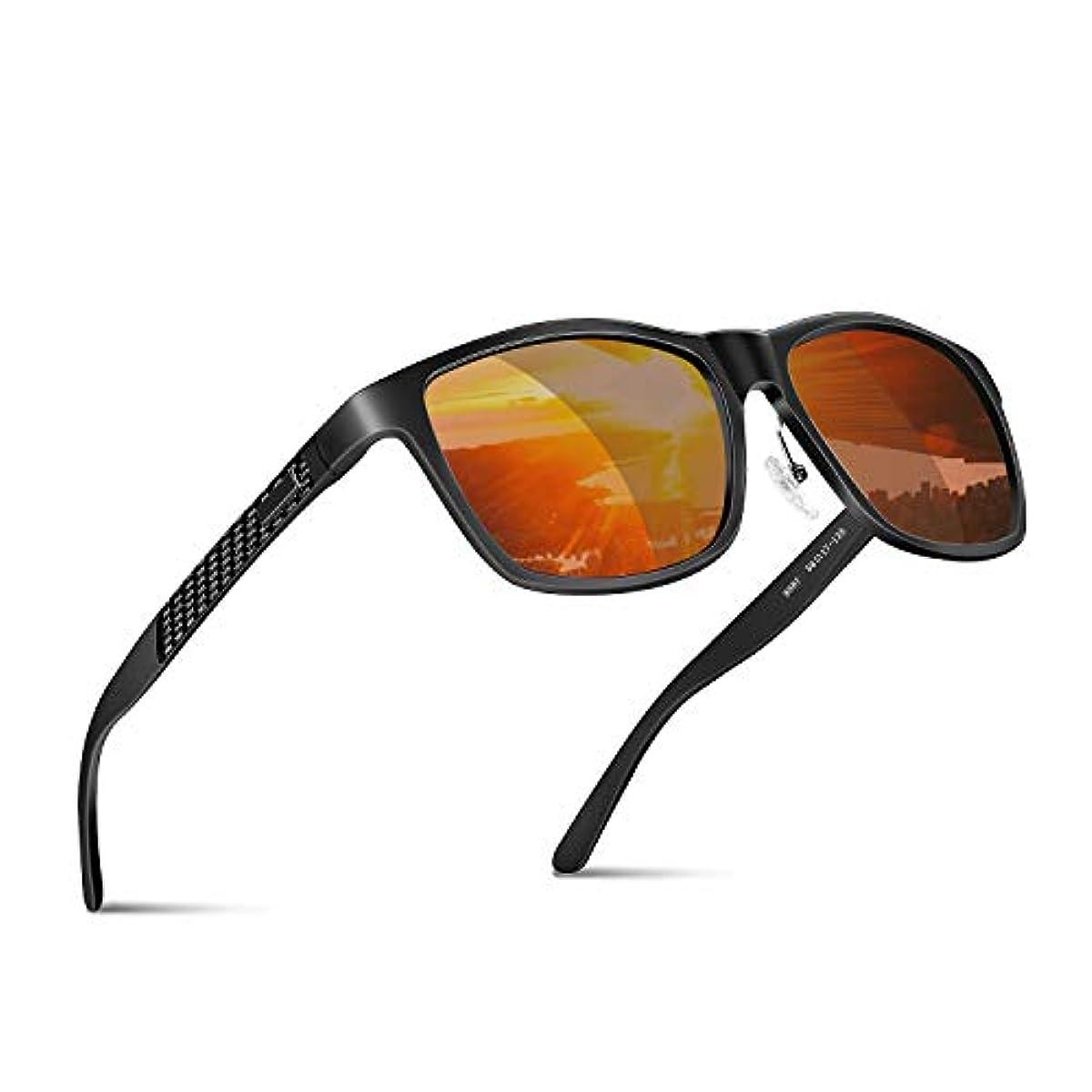[해외] 편광 썬글라스 웰링톤 편향 렌즈 낚시 런닝 드라이어이브 스포츠 운동 아웃도어 경량 UV400 자외선 컷 유니 파우치 세트 JBHOO