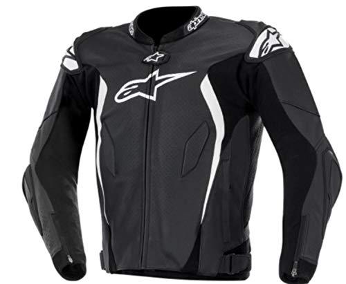 Alpinestars GP Tech Leather Jacket (BLACK/WHITE)