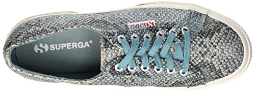 Superga 2750-Cotsnakew, Zapatillas de Gimnasia para Mujer Verde
