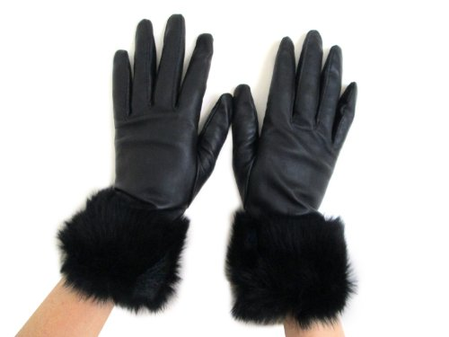 FOWNES Womens Lambskin Leather Gloves product image