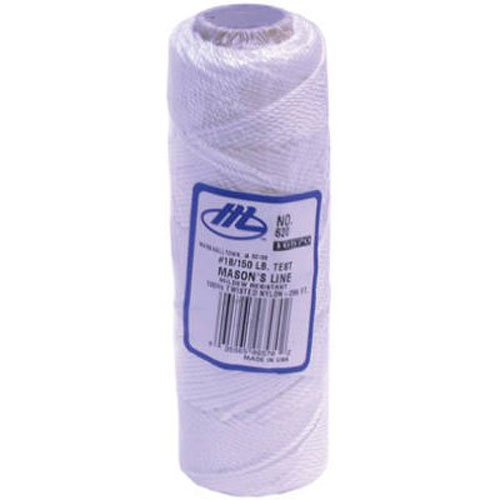 MARSHALLTOWN The Premier Line 622 250-Foot Mason's Line White Braided Nylon by MARSHALLTOWN The Premier Line