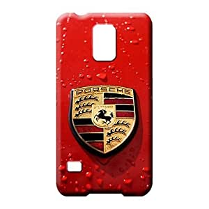 samsung galaxy s5 Heavy-duty Top Quality phone Hard Cases With Fashion Design cell phone covers Porsche car logo super