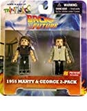 : Minimates Back to the Future 1955 Marty & George 2 Pack Previews Exclusive
