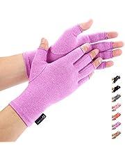 Duerer Anti-artritis handschoenen (1 paar), compressiehandschoenen voor mensen met reuma of en osteoartritis. De handschoenen bieden verlichting van de symptomen bij artritische gewrichtspijn