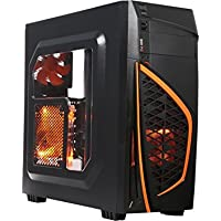Gaming Desktop - AMD RYZEN 3 1200 3.1GHz Quad-Core, NVIDIA GTX 1050 2GB Graphics, 8GB DDR4 Memory, 1TB HDD, Microsoft Windows 10 Pro 64-Bit, Wifi