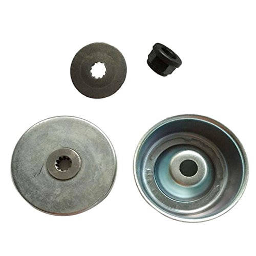 - Flameer Durable Collar Nut + Rider Plate + Thrust Washer + Thrust Plate Guard Washer KIT for STIHL FS120 FS200 FS250 Brush Parts NEW Aftermarket Replacement