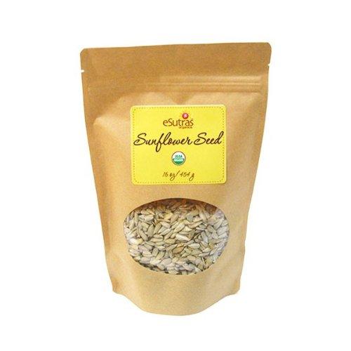 eSutras Organics Raw Sunflower Seeds, Bulk, 10 Pound