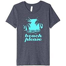 Beach Please Island Vacation Getaway Wish T-Shirt