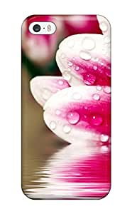 Best Iphone 5/5s Case Cover Skin : Premium High Quality Flower Reflections Case