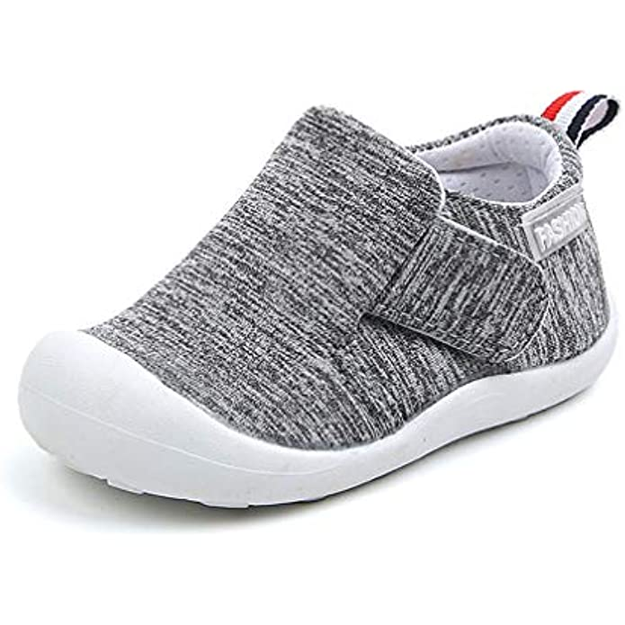 OAISNIT Baby Boys Girls Sneakers Anti Slip Lightweight Soft Toddler First Walkers for Walking Running