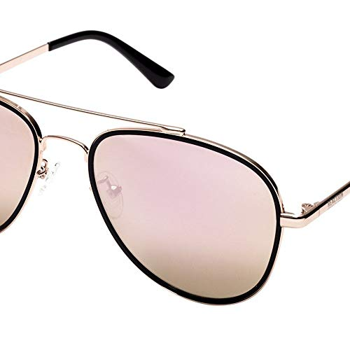 - Kenneth Cole Reaction Women's Metal Aviator Sunglasses