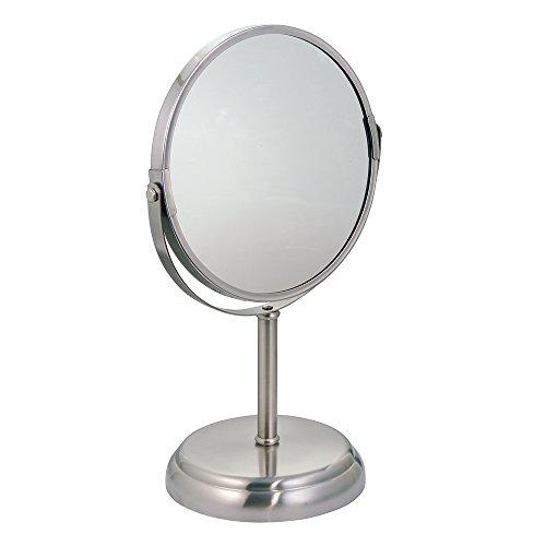mDesign Standing Vanity Bathroom Countertops