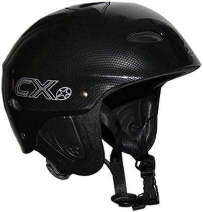 Casco para Deportes Acu/áticos Color Negro Concept X CX Pro