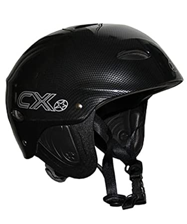 Concept X Kite + Surf Casco CX Pro Casco de Deportes de Agua – Disponible en Carbono, Color Negro o Blanco