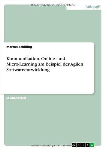 Book Kommunikation, Online- und Micro-Learning am Beispiel der Agilen Softwareentwicklung (German Edition)